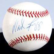 Wade Boggs Autographed Baseball