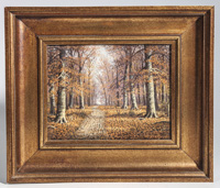 William McKendree Snyder (Indiana) Oil Painting