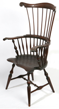 WALLACE NUTTING  FANBACK WINDSOR CHAIR