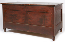 19TH CENTURY PAINT DECORATED BLANKET CHEST