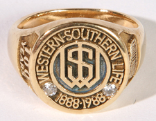 WESTERN SOUTHERN LIFE 14K GOLD RING