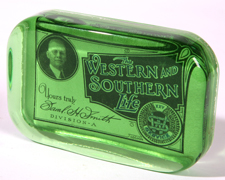 CIRCA 1910 WESTERN SOUTHERN PAPERWEIGHT