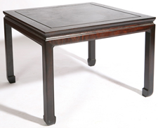CHINESE TEAKWOOD TABLE