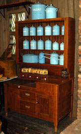 KITCHEN CABINET & GRANITEWARE