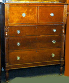 EARLY CHERRY BONNET CHEST