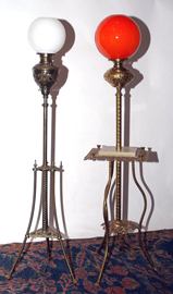 Brass Organ Lamps