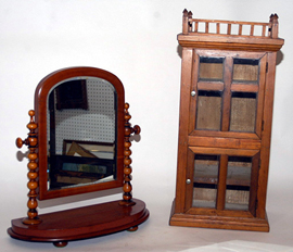Small Cupboard & Shaving Mirror