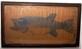 Folk Art Fish Painting
