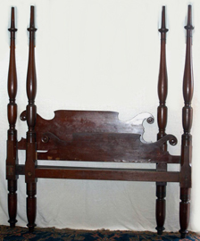 Early Cherry Tall Poster Bed