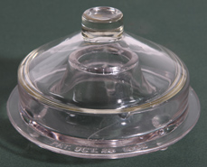 VICTORIAN GLASS LIDDED FLY TRAP