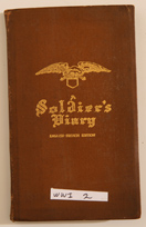 WWI 82 INF. DIV. SOLDIERS DIARY, DOD
