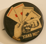 TEDDY ROOSEVELT CAMPAIGN PINBACK