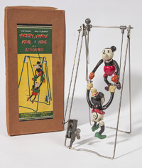 MICKEY & MINNIE MOUSE ACROBAT TOY IN ORIGINAL BOX