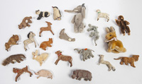 LOT OF SMALL MAX CARL TOY ANIMALS