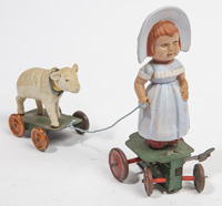 TIN & CELLULOID WINDUP TOY