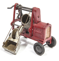 FINE HUBLEY CAST IRON GRASSHOPPER TOY