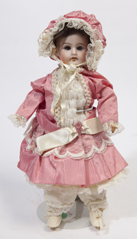 GERMAN BISQUE SOCKET HEAD DOLL