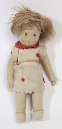 EARLY LENCI TYPE DOLL