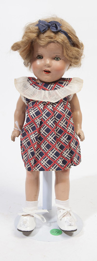 SHIRLEY TEMPLE COMPOSITION DOLL