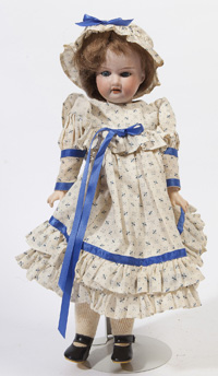 A&M 390 BISQUE SOCKET HEAD DOLL