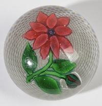 ST. LOUIS CLEMATIS PAPERWEIGHT