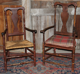 PERIOD ARM CHAIRS