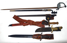 Swords, Bayonets & Knives