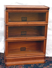 Globe Wenicke Oak Stack Bookcase