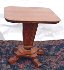 Large Oak Parlor Table