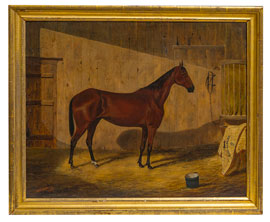 ace Horse Painting by W.F. Chadwick