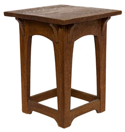 Early Gustave Stickley Taboret