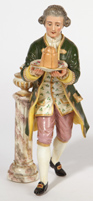 La Courtille Porcelain Figure