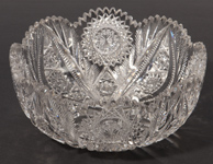 American Cut Glass Bowl