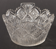 American Cut Glass Ice Bucket