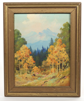 Willard J. Page (Colorado/Arizona) Oil Painting