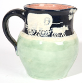 PISGAH FOREST POTTERY PITCHER