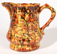 GEORGE OHR POTTERY PITCHER
