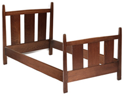 GUSTAV STICKLEY SINGLE BED #923