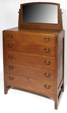 LIMBERT CHEST OF DRAWERS W/MIRROR