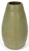 CONTEMPORARY ARTS & CRAFTS STONEWARE VASE