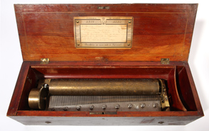 "Swiss 13"" Cylinder Music Box"