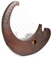 Lyre Form Music Box