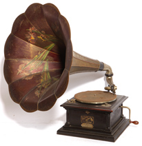 Original Victor IV Disc Phonograph