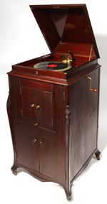 Victor Upright L-Door Phonograph