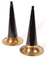 Two Horns for Cylinder Phonograph