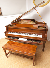 William Knabe & Co. Player Baby Grand Piano
