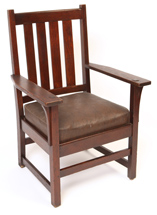 L. & J. G. Stickley Arm Chair