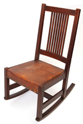 L. & J. G. Stickley Spindled Rocker