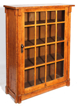 Roycroft Thirty-Third Degree Bookcase No. 086