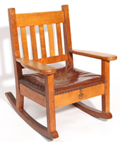 Roycroft Oak Rocker